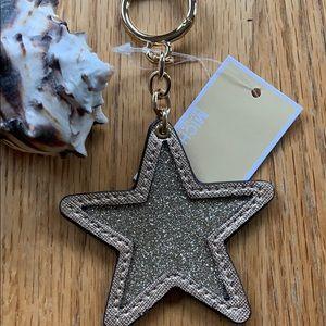 Michael Kors Star Keychain.